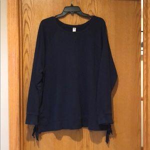 Old Navy Tie Sweatshirt